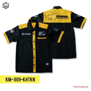Baju Bus Scania