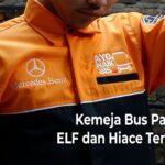 Baju Supir Bus Pariwisata, ELF dan Hiace Terlengkap