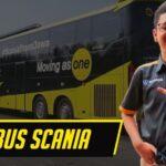 Baju Bus SCANIA Buat Gayamu Keren Seketika
